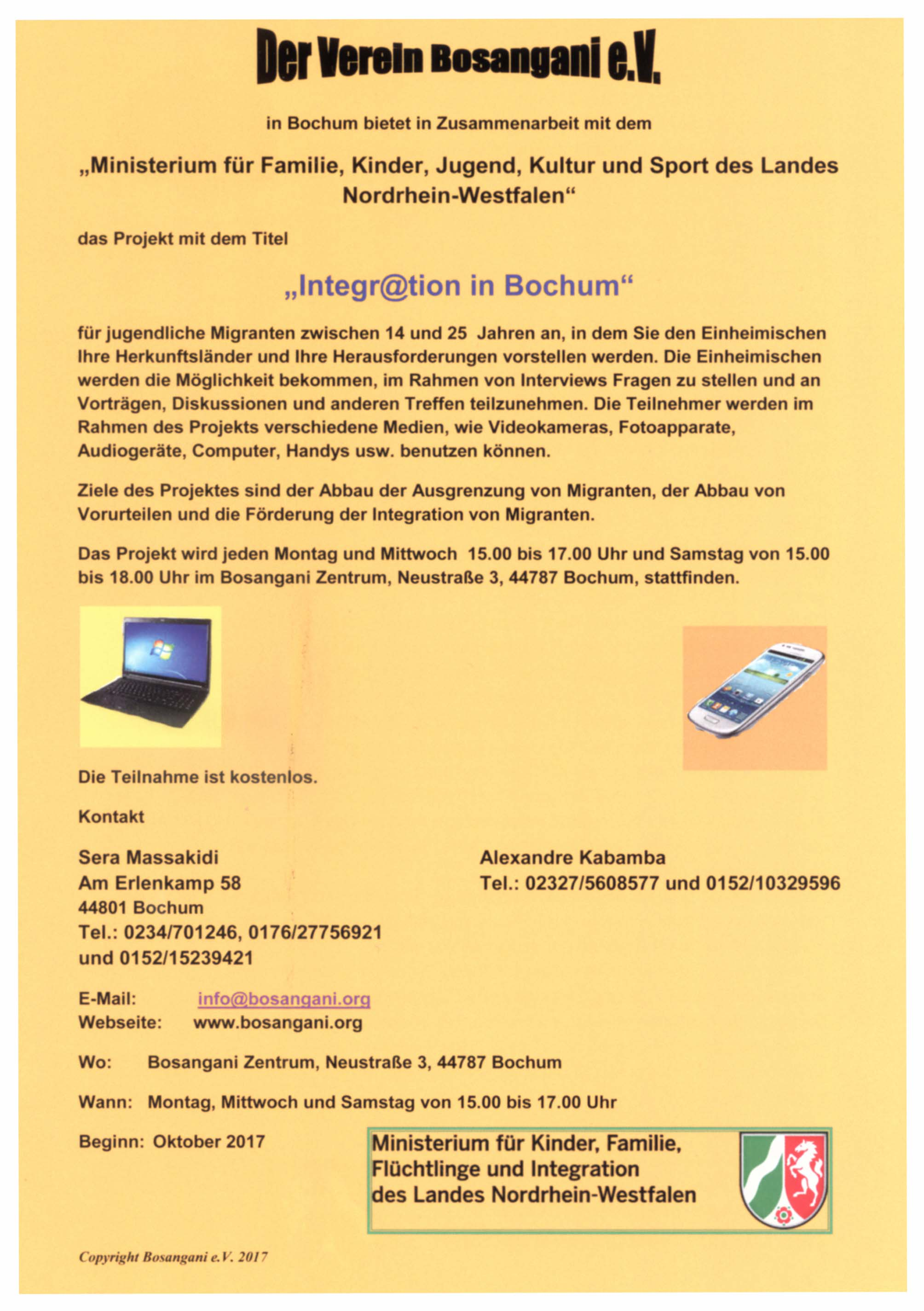 Integration in Bochum